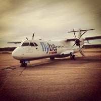 Photo taken at flybe BE5535 by Jonathan B. on 6/7/2013