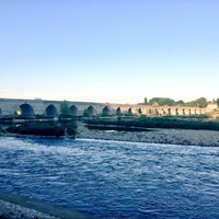 Photo taken at Pont de Beaugency by Baptiste on 8/1/2015