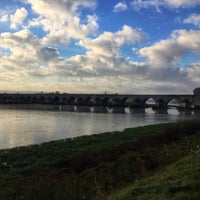 Photo taken at Pont de Beaugency by Baptiste on 10/28/2017
