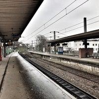 Photo taken at Gare SNCF de Suresnes — Mont Valérien by Baptiste on 2/12/2017