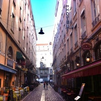Photo taken at Rue des Marronniers by Baptiste on 9/23/2013