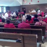 Photo taken at Corpus Christi Catholic Parish by Vickie F. on 5/19/2013