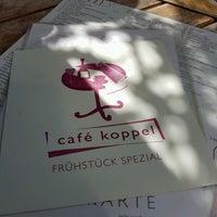 Photo taken at Café Koppel by Sandra K. on 6/5/2017