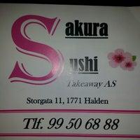 Photo taken at Sakura SUSHI by Siri S. on 7/26/2013