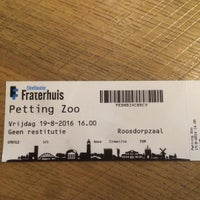 Photo taken at Filmtheater Fraterhuis by Jessy V. on 8/19/2016