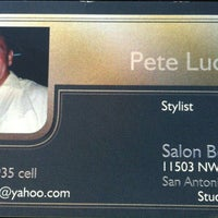 Photo taken at Salon Boutique by Angie C. on 2/8/2014