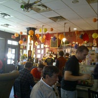 Photo taken at Fedora Cafe by Deb E. on 10/21/2012