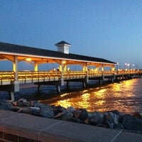Photo taken at St. Simons Island Pier by Shawn M. on 4/11/2013
