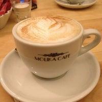 Photo taken at Molika Cafe by Karina I. on 1/9/2013