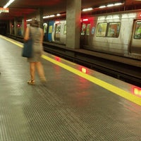 Photo taken at MetrôRio - Estação São Francisco Xavier by Aldo M. on 5/16/2013