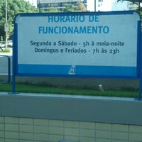Photo taken at MetrôRio - Estação São Francisco Xavier by Aldo M. on 5/15/2013