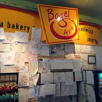 Photo taken at Bagel Art by Ozan S. on 10/7/2013
