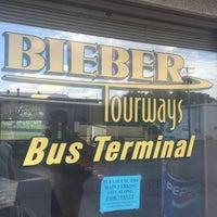 Photo taken at Bieber Bus Terminal by Evan B. on 6/18/2016