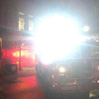 Photo taken at FDNY Squad 18 by Evan B. on 1/13/2017