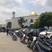 Photo taken at masjid teras jernang by Hakim H. on 3/17/2017