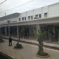 Photo taken at Gare de Mohammédia  محطة المحمدية by Saad O. on 3/13/2013