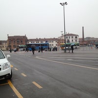 Photo taken at Piazzale Roma by Saad O. on 1/28/2013