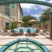 Photo taken at Embassy Suites by Hilton Tampa USF Near Busch Gardens by Scott S. on 6/6/2014