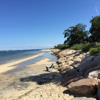 Photo taken at Millway Beach by Emily Snow C. on 9/12/2015