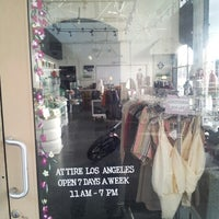 Photo taken at Attire Los Angeles by Used Tires Express................. on 10/22/2012