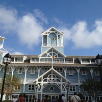 Photo taken at Disney's Beach Club Resort by Adriana G. on 10/28/2012
