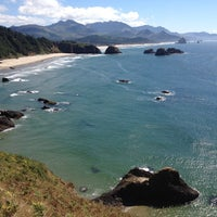 Photo taken at Cannon Beach Ecola Creek Lodge by Albert Y. on 8/30/2012