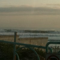 Photo taken at Lenox Beach Approach by Mary J. on 2/22/2012