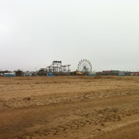 Photo taken at Skegness Beach by Jeremy M. on 3/25/2012