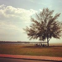 Photo taken at Bagan Lalang Beach by stephychia on 2/26/2012
