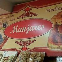 Photo taken at Manjares by Pio R. on 3/22/2012