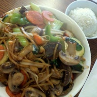Photo taken at Mongolian Grill by Caiti L. on 4/1/2012