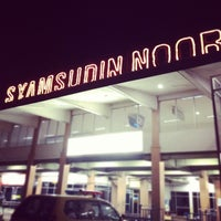 Photo taken at Syamsuddin Noor International Airport (BDJ) by Stevanus S. on 2/15/2012