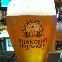 Photo taken at Shanghai Brewery by Kevin C. on 7/19/2012