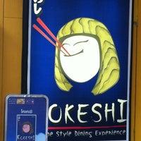 Photo taken at Kokeshi by Ivyz P. on 3/13/2012
