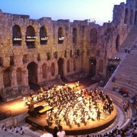 Photo taken at Herod Atticus Odeon by Elena N. on 6/15/2012