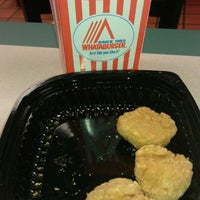 Photo taken at Whataburger by Terrence B. on 4/19/2012