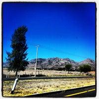 Photo taken at Cerro del Picacho by Joel S. on 4/6/2012