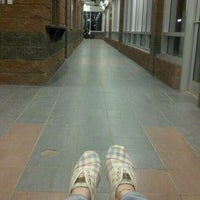 Photo taken at South Campus LRT Station by Leah E. on 5/2/2012