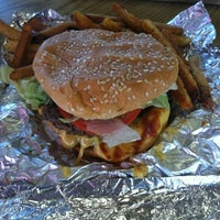 Photo taken at Five Guys by Alicia V. on 8/9/2012
