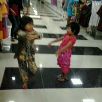 Photo taken at Jambi Prima Mall by Annisa R. on 5/19/2012