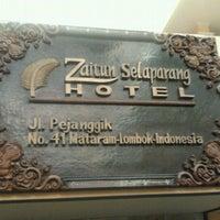 Photo taken at Zaitun Selaparang Hotel by Herry Agus P. on 7/14/2012