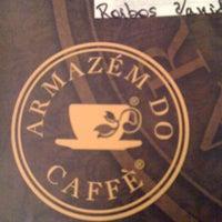 Photo taken at Armazém do Caffé by Heejoo L. on 3/7/2012