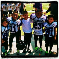 "Photo taken at Rancho Cucamonga Pop Warner Field by ! ! ""Backstage Gabe . on 9/8/2012"