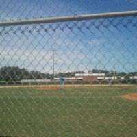 Photo taken at Ed White Highschool Baseball by Eric W. on 5/20/2012
