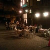 Photo taken at Cafe Piyanos by Çağlar T. on 6/9/2012