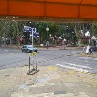 Photo taken at Plaza 9 de Julio by Ramon G. on 5/19/2012