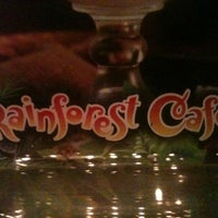 Photo taken at Rainforest Cafe by Matt R. on 2/17/2012