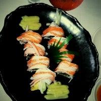 Photo taken at Sushi King by Athena A. on 7/3/2012