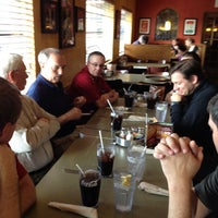 Photo taken at LaRosa's Pizzeria Batesville by Chad D. on 3/17/2012