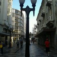 Photo taken at Calçadão da Rua Halfeld by Edson T. on 7/15/2012